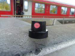 Molotow Astro Fat Cap schwarz / pink