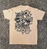 "Sick and Iller Shirt "" Watch Your Skin "" in beige in Gr��e S"