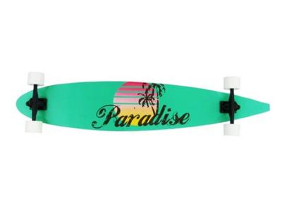 paradise retro script pintail komplett longboard im deepend frankfurt deepend. Black Bedroom Furniture Sets. Home Design Ideas